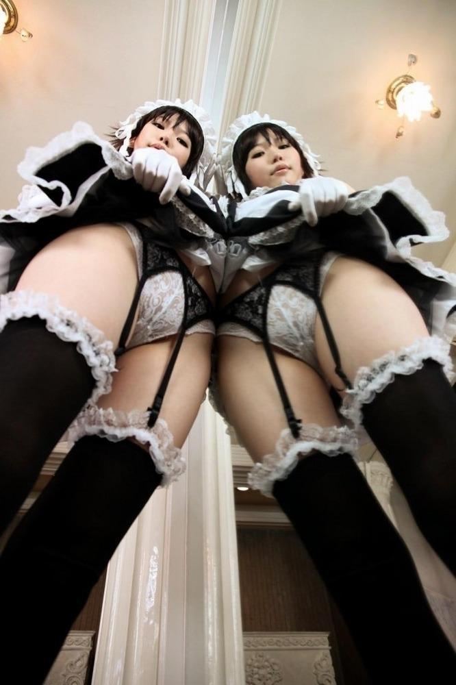 鏡で2倍エロくなる!?