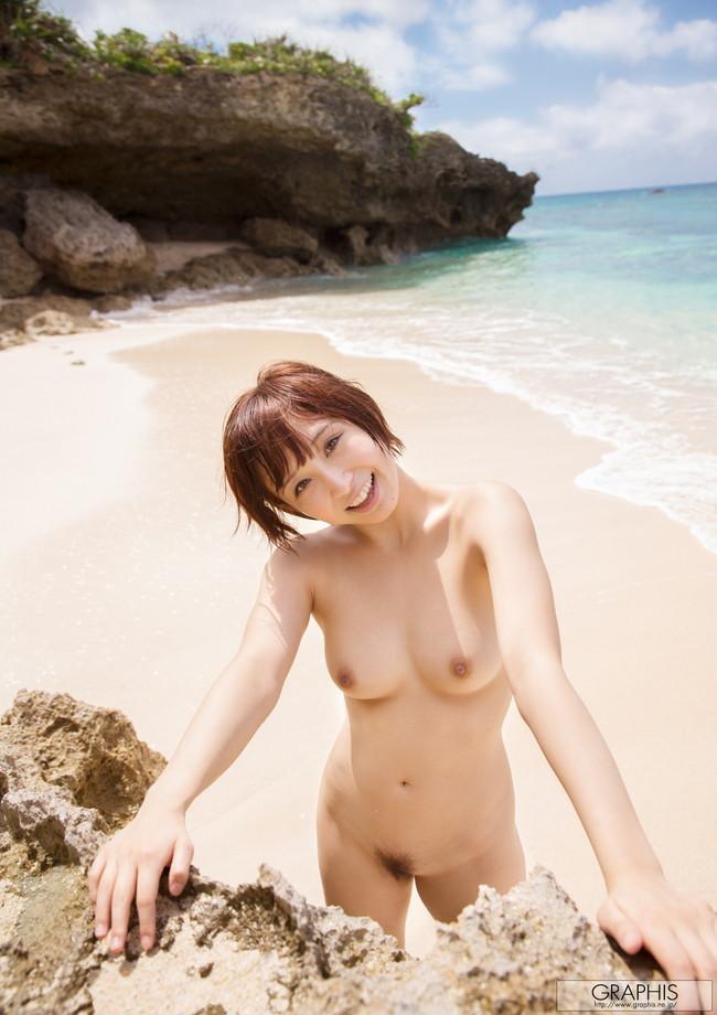 まるでプライベートビーチに来たみたい…