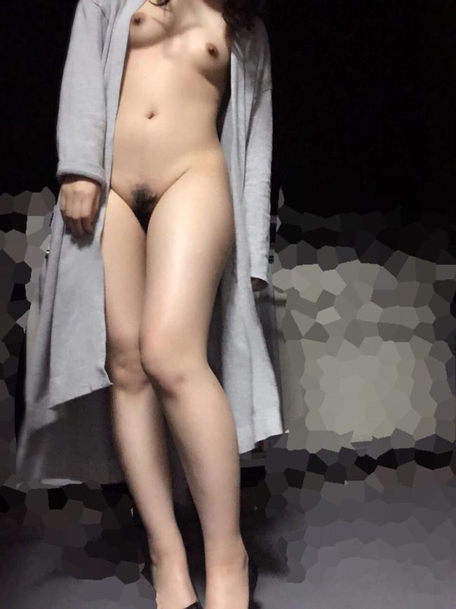 夜の散歩は全裸で!