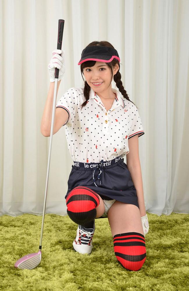 ゴルフはパンチラしやすい!?