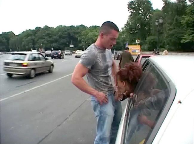公道でフェラとか危なすぎる