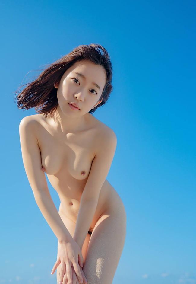 無修正 全裸直立ワレメ 正面 ヌード -VIDEOS